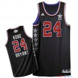 2015 All Star - Maillot NBA Kobe Bryant 24 Noir