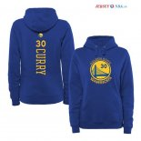 Golden State Warriors - Sweat Capuche NBA Stephen Curry 30 Bleu Jaune
