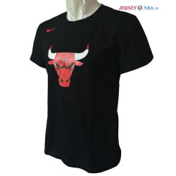 Chicago Bulls - Camisetas NBA Nike Noir 2017/2018
