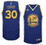 Golden State Warriors - Maillot NBA Curry 30 Bleu Retentisse Fashion