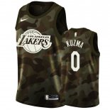 Los Angeles Lakers - Maillot NBA Kyle Kuzma 0 Camouflage 2019
