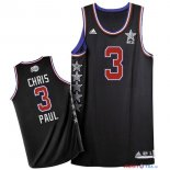 2015 All Star - Maillot NBA Chris Paul 3 Noir