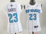 New Orleans Pelicans - Maillot Femme NBA Anthony Davis 23 Blanc
