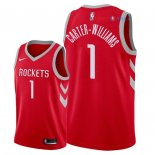 Houston Rockets - Maillot NBA Michael Carter Williams 1 Rouge Icon 2018