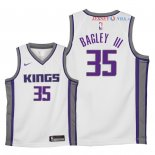 Sacramento Kings - Maillot Junior NBA Marvin Bagley III 35 Blanc Association 2018