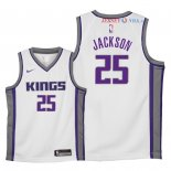 Sacramento Kings - Maillot Junior NBA Justin Jackson 25 Blanc Association 2018