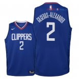 Los Angeles Clippers - Maillot Junior NBA Shai Gilgeous Alexander 2 Bleu Icon 2018