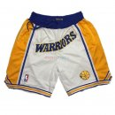 Golden State Warriors - Pantalon NBA Curry Blanc