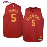Indiana Pacers - Maillot Junior NBA Edmond Sumner 5 Retro Bordeaux