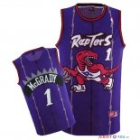 Toronto Raptors - Maillot NBA Tracy McGrady 1 Retro Pourpre