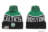 Boston Celtics - 2017 Tricoter un Bonnet NBA Noir