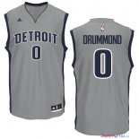 Detroit Pistons - Maillot NBA Andre Drummond 0 Gris