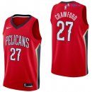 New Orleans Pelicans - Maillot NBA Jordan Crawford 27 Rouge Statement 2017/2018
