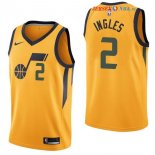 Utah Jazz - Maillot NBA Joe Ingles 2 Jaune Statement 2017/2018