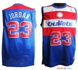 Washington Wizards - Maillot NBA Michael Jordan 23 Retro Bleu