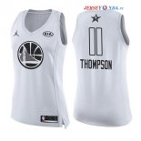 2018 All Star - Maillot Femme NBA Klay Thompson 11 Blanc