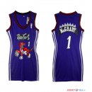 Toronto Raptors - Maillot Femme NBA Tracy McGrady 1 Pourpre