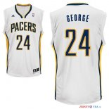 Indiana Pacers - Maillot NBA Paul George 24 Blanc