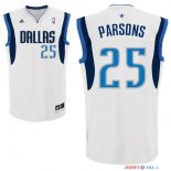 Dallas Mavericks - Maillot NBA Chandler Parsons 25 Blanc