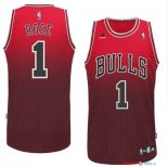 Chicago Bulls - Maillot NBA Rose 1 Rouge Retentisse Fashion