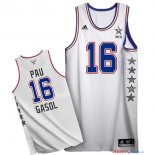 2015 All Star - Maillot NBA Pau Gasol 16 Blanc