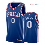 Philadelphia Sixers - Maillot NBA Justin Patton 0 Bleu Icon 2018