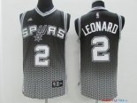 San Antonio Spurs - Maillot NBA Leonard 2 Gris Retentisse Fashion