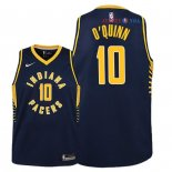 Indiana Pacers - Maillot Junior NBA Kyle O'Quinn 10 Marine Icon 2018/2019