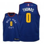 Denver Nuggets - Maillot Junior NBA Isaiah Thomas 0 Bleu Statement 2018/2019