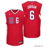 Los Angeles Clippers - Maillot NBA DeAndre Jordan 6 Rouge