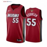 Miami Heat - Maillot NBA Duncan Robinson 55 Rouge Statement 2020 Finales Champions
