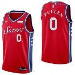 Philadelphia Sixers - Maillot NBA Jacob Pullen 0 Rouge 2017/2018