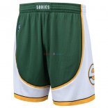 Seattle Supersonics - Pantalon NBA Blanc Hardwood Classics