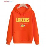 Los Angeles Lakers-Sweat Capuche NBA Orange