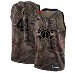 Washington Wizards - Maillot NBA Wes Unseld 41 Camo Swingman Collection Realtree 2018