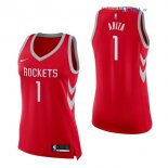 Houston Rockets - Maillot Femme NBA Trevor Ariza 1 Rouge Icon 2017/2018
