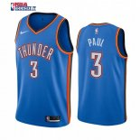Oklahoma City Thunder - Maillot NBA Chris Paul 3 Bleu Icon 2019-20
