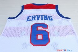 1980 All Star - Maillot NBA Julius Winfield 23 Erving Blanc