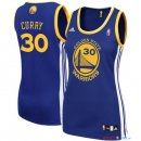 Golden State Warriors - Maillot Femme NBA Stephen Curry 30 Bleu