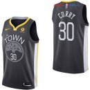 Golden State Warriors - Maillot NBA Stephen Curry 30 Noir 2017/2018