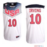 2014 USA - Maillot NBA Irving 10 Blanc