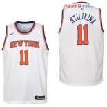 New York Knicks - Maillot Junior NBA Frank Ntilikina 11 Blanc Association