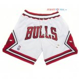 Chicago Bulls - Pantalon NBA Nike Retro Blanc 2018