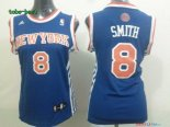 New York Knicks - Maillot Femme NBA J.R.Smith 8 Bleu