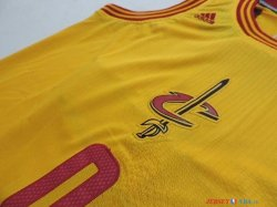 Cleveland Cavaliers - Maillot Junior NBA Kevin Love 0 Jaune 2014 Noël