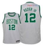 Boston Celtics - Maillot Junior NBA Terry Rozier III 12 Nike Gris Ville 2018