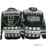 San Antonio Spurs - NBA Unisex Ugly Sweater Gris Noir