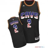 USA Flag Special Edition - Maillot NBA Irving 2 Noir