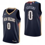 New Orleans Pelicans - Maillot NBA DeMarcus Cousins 0 Marine Icon 2017/2018