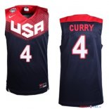 2014 USA - Maillot NBA Curry 4 Noir